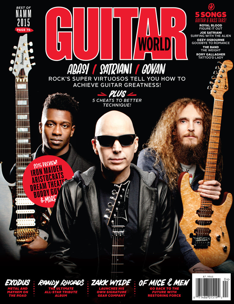 Guitar World - April 15 - Abasi/Satriani/Govan