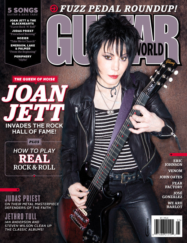 Guitar World - May 15 - Joan Jett