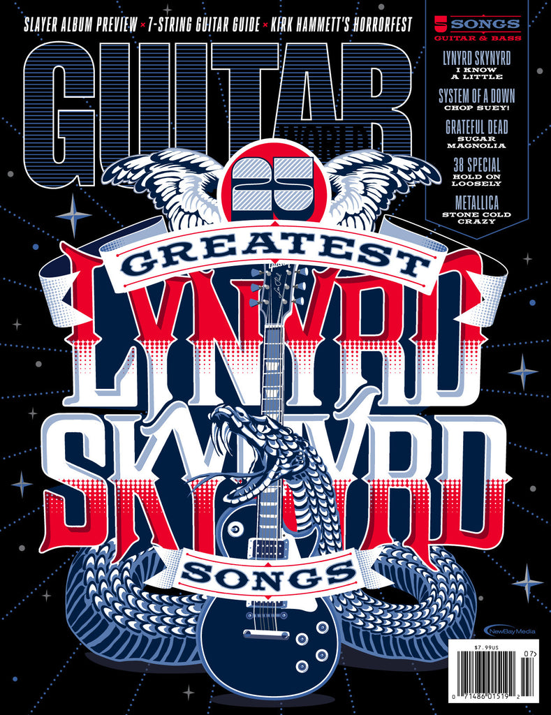 Guitar World - July 15 - Lynyrd Skynyrd