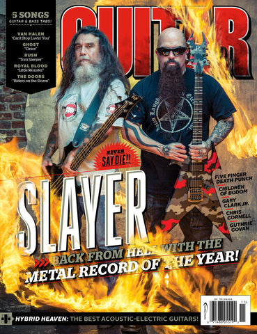 Guitar World - November 15 - Slayer