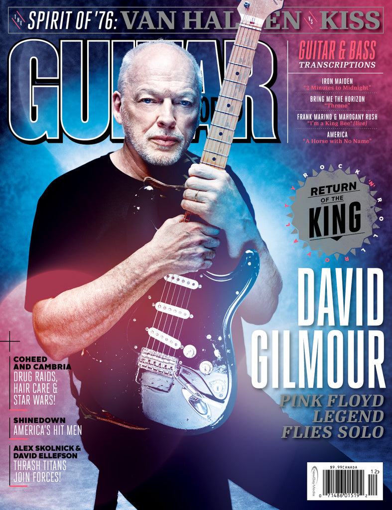 Guitar World Online Subscription Wiring Diagrams Circuitdiagram 555circuit Kaitailakeoxygensensorcircuitdiagram December 2015 David Gilmour Future Us Inc Rh Newbayonlinestore Com Print Digital
