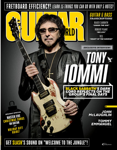 Guitar World - January 2018 - Tony Iommi - NewBay Media Online Store