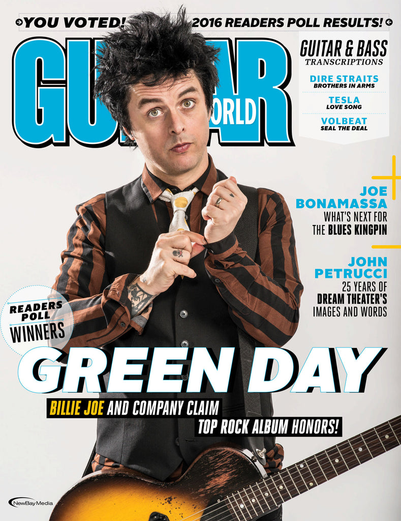 Guitar World - March 2017 - Green Day