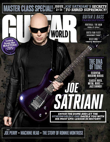 Guitar World - March 2018 - Joe Satriani