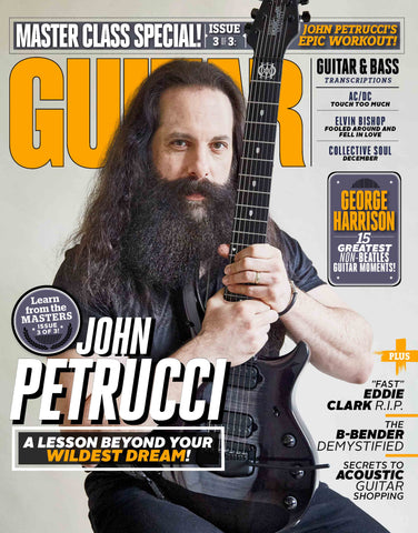 Guitar World - April 2018 - John Petrucci - NewBay Media Online Store