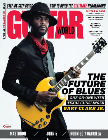 Guitar World - May 2017 - Gary Clark Jr. - NewBay Media Online Store