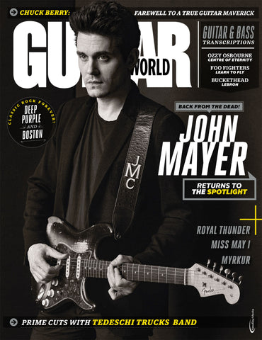 Guitar World - June 2017 - John Mayer - NewBay Media Online Store