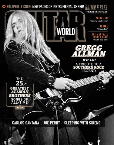 Guitar World - September 2017 - Gregg Allman