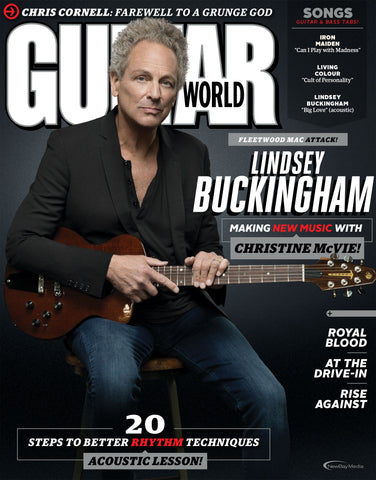 Guitar World - August 2017 - Lindsey Buckingham - NewBay Media Online Store