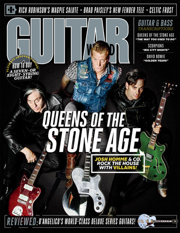 Guitar World - November 2017 - Queens of the Stone Age