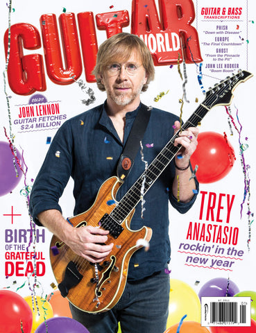 Guitar World - January 2016 - Trey Anastasio