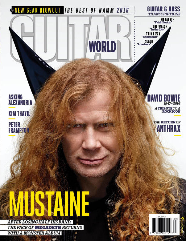 Guitar World - April 2016 - Mustaine