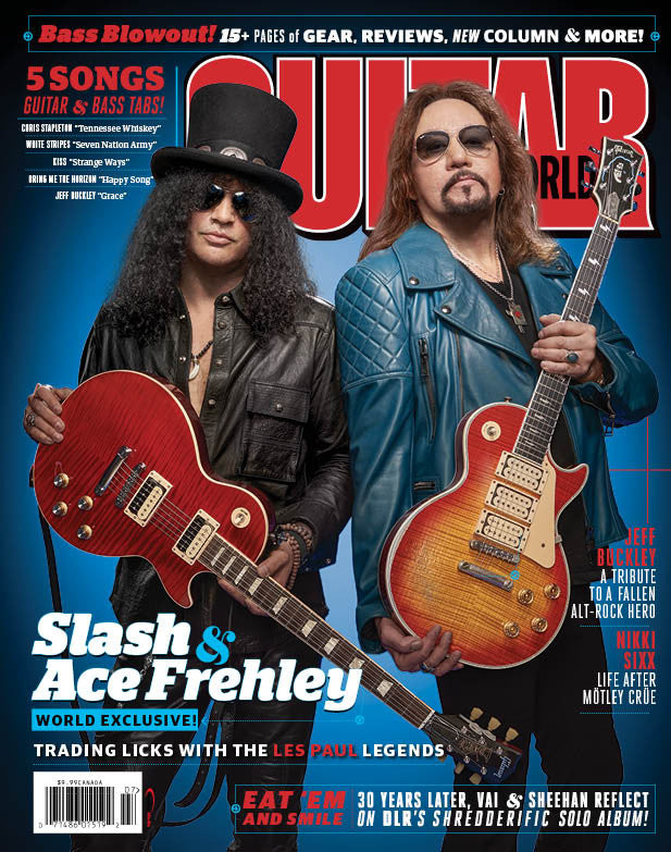 Guitar World - June 2016 - Slash & Ace Frehley