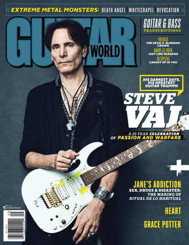 Guitar World - September 2016 - Steve Vai