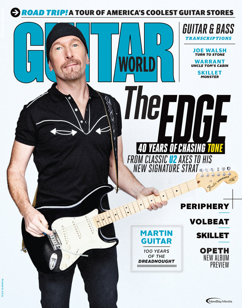 Guitar World - October 2016 - The Edge