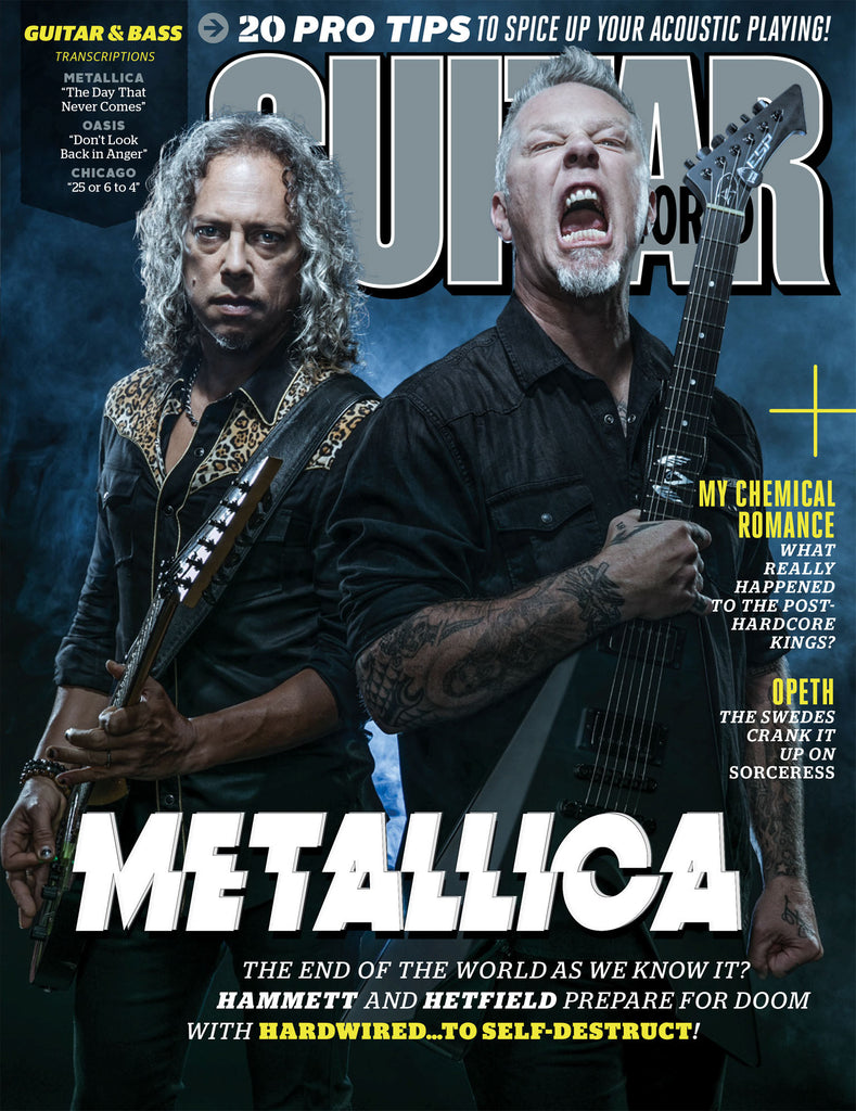 Guitar World - Holiday 2016 - Metallica