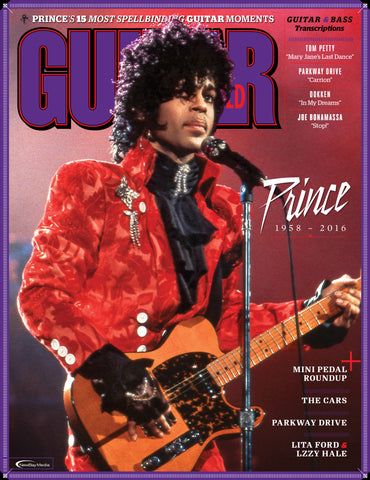 Guitar World - August 2016 - Prince 1958 - 2016