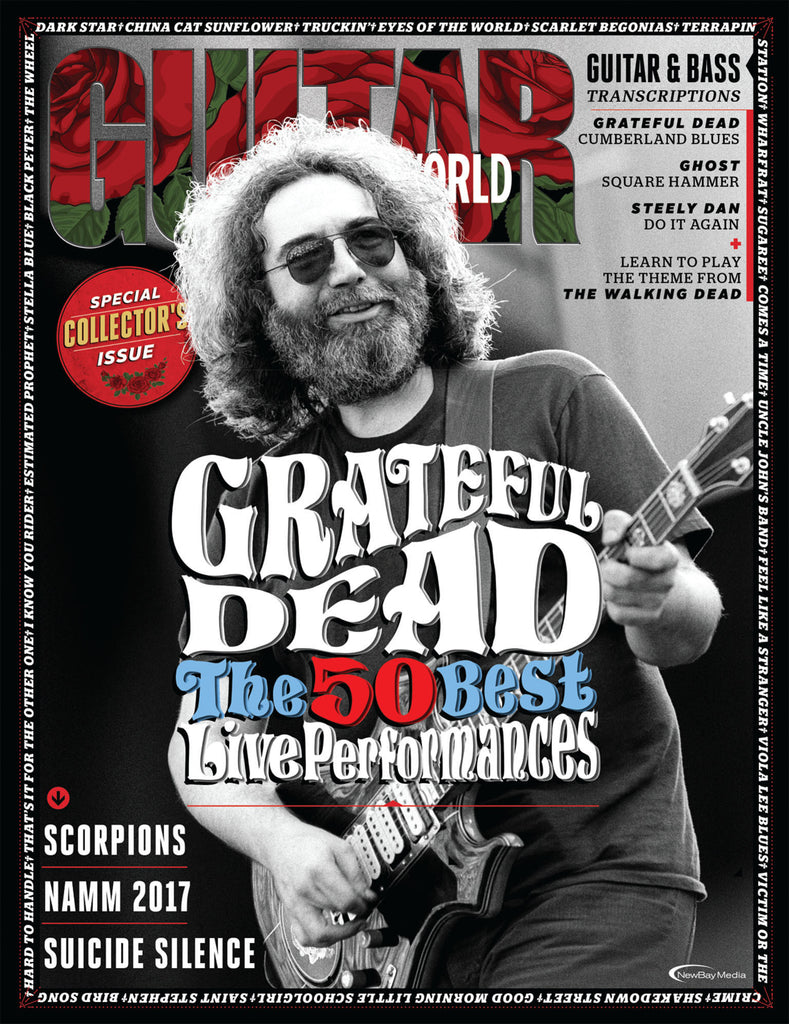 Guitar World - April 2017 - Grateful Dead
