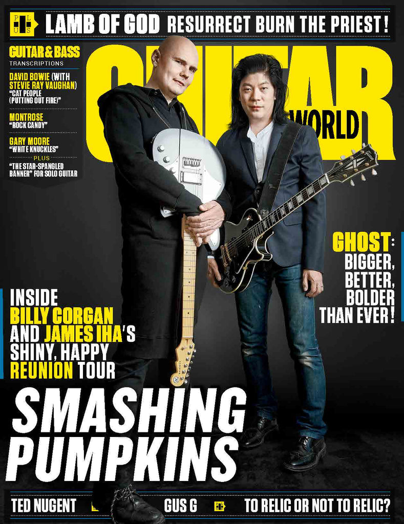 Guitar World - August 2018 - Smashing Pumpkins