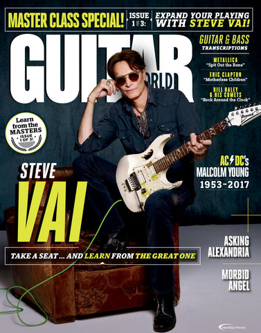 Guitar World -February 2018 - Steve Vai - NewBay Media Online Store