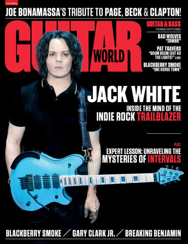 Guitar World - July 2018 - Jack White - NewBay Media Online Store