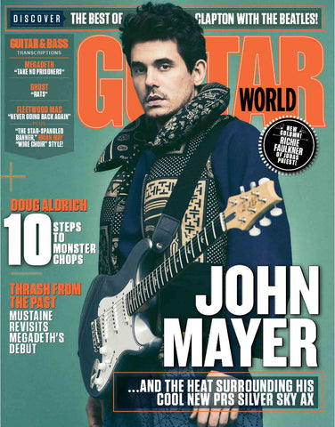 Guitar World - September 2018 - John Mayer