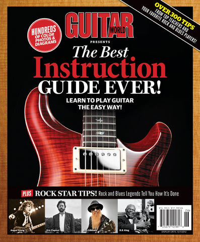 Guitar World Presents-The Best Instruction Guide Ever! - NewBay Media Online Store