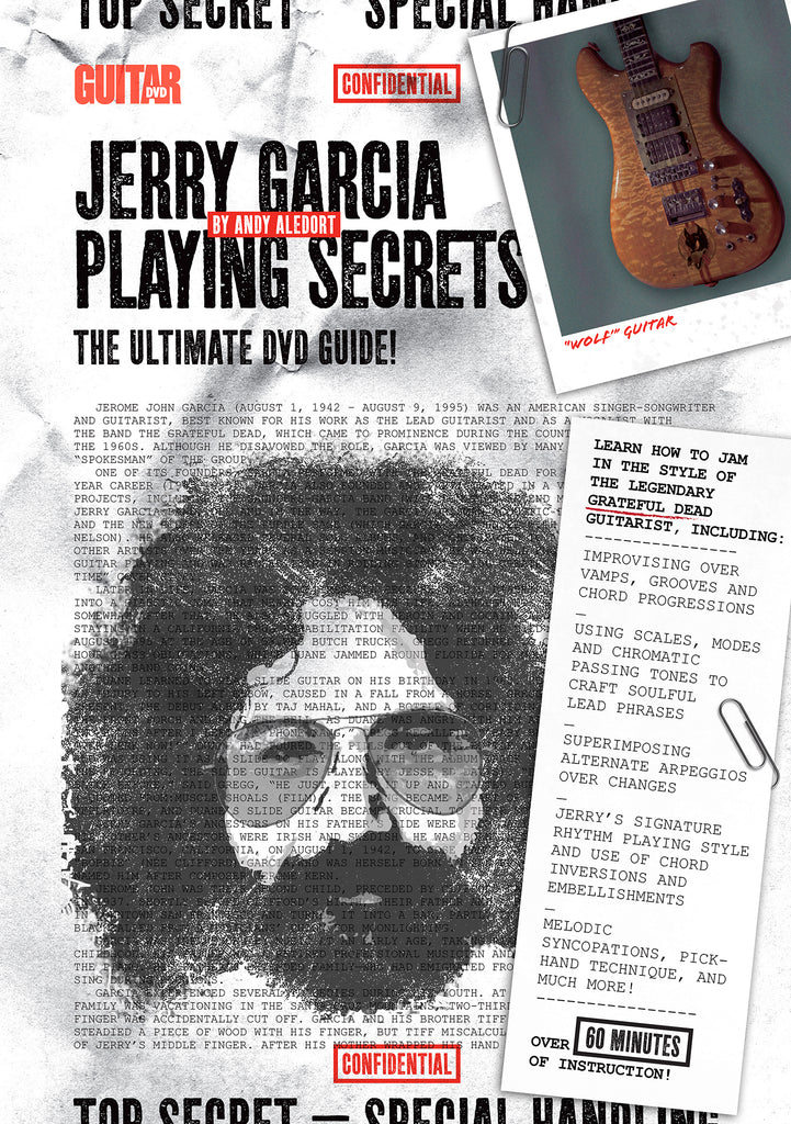 Jerry Garcia - Playing Secrets DVD - NewBay Media Online Store