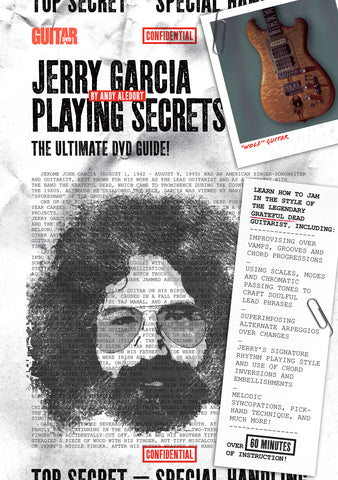 Jerry Garcia - Playing Secrets DVD