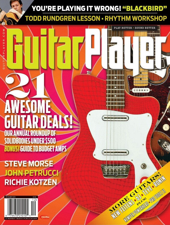 Guitar Player - December 2013 - Awesome Guitar Deals!