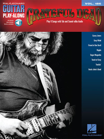 Grateful Dead - Guitar Play-Along Vol. 186