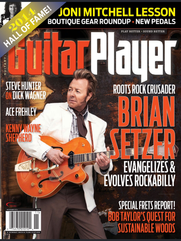 Guitar Player - November 2014 - Brian Setzer