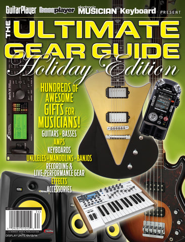 The Ultimate Gear Guide Holiday Edition - 2013