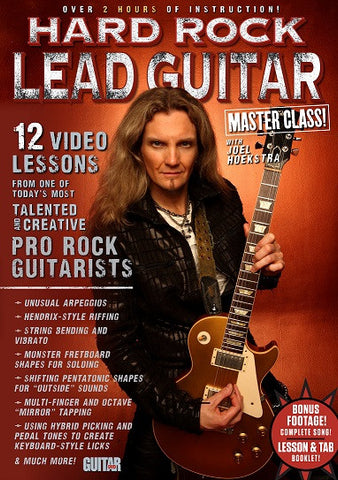 HARD ROCK LEAD GUITAR MASTER CLASS WITH JOEL HOEKSTRA - NewBay Media Online Store