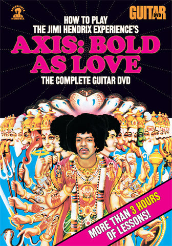 How to Play The Jimi Hendrix Experience's Axis: Bold As Love DVD - NewBay Media Online Store