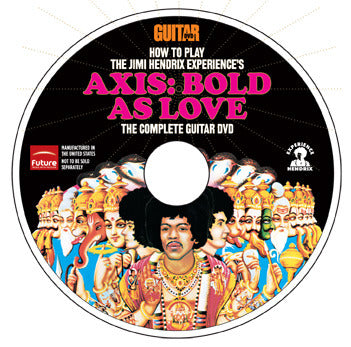 How to Play The Jimi Hendrix Experience's Axis: Bold As Love DVD