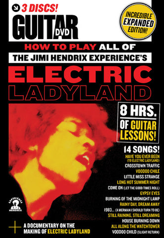 How to Play All of The Jimi Hendrix Experience's Electric Ladyland DVD - NewBay Media Online Store