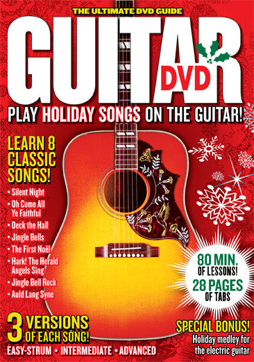 Play Holiday Songs on the Guitar DVD