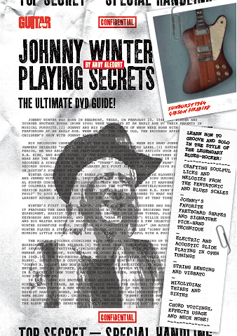 Johnny Winter Playing Secrets