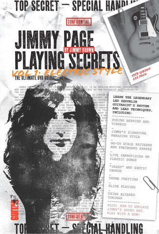 Jimmy Page Playing Secrets, Vol. 1: Electric Style - NewBay Media Online Store