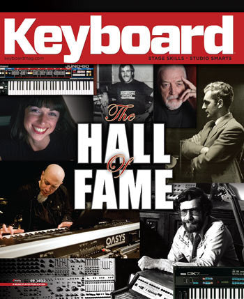 Keyboard - Sept - 2012 - The Hall of Fame