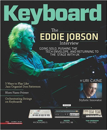 Keyboard Magazine - December 2016 - Eddie Jobson