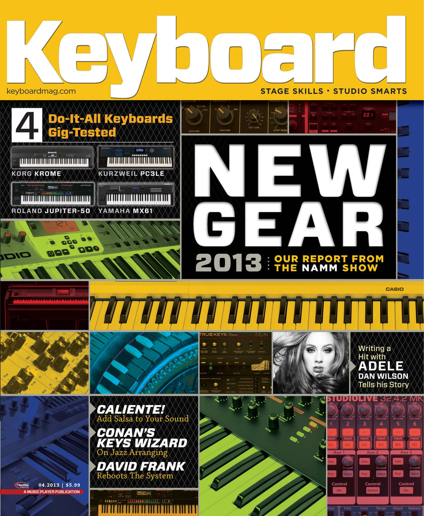Keyboard - Apr 2013 - New Gear 2013