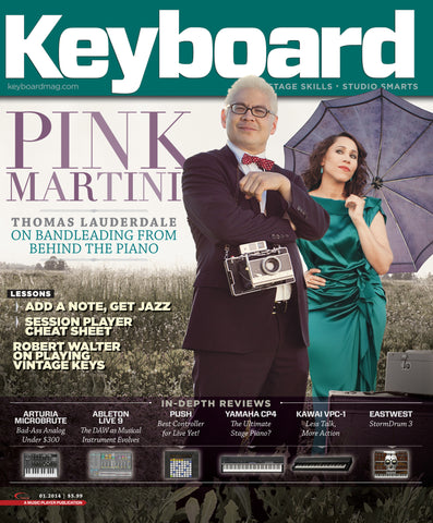 Keyboard - January 2014 - Pink Martini