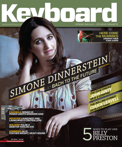 Keyboard - February 2014 - Simone Dinnerstein