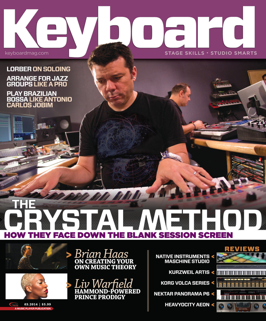 Keyboard - March 2014 - The Crystal Method - NewBay Media Online Store