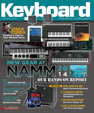 Keyboard - April 2014 - New Gear at NAMM 2014 - NewBay Media Online Store