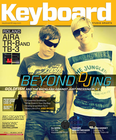 Keyboard - May 2014 - Beyond DJing - NewBay Media Online Store