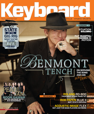 Keyboard - June 2014 - Benmont Tench - NewBay Media Online Store