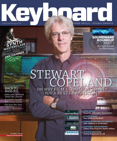 Keyboard - July 2014 - Stewart Copeland